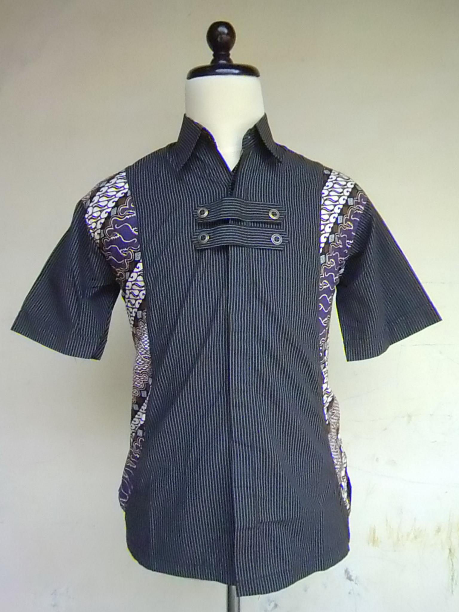 Hem Lurik Kombinasi Batik Samping  Dwi Batik Jogja